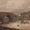 Thomas Girtin, Harewood Bridge, 1801 (©Harewood House Trust, Harewood, Wielka Brytania)
