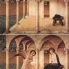 Fra Angelico, Zwiastowanie, ok.1426 r.  – www.behance.net/bencehajdu