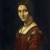 La Belle Ferronière, Leonardo da Vinci, ok. 1495