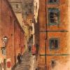 Ulica Kamienne Schodki w Warszawie 1870-1872, MNW