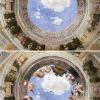 Andrea Montegna, Fresk na suficie Camera degli Sposi, 1465-1475 – www.behance.net/bencehajdu
