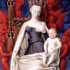 Jean Fouquet, Dziewica z Dzieciątkiem, ok. 1450