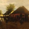 Maksymilian Gierymski, Wiosna w małym miasteczku, 1872–1873, wł. Prywatna Państwa Marii i Pawła Dąmbskich