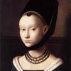 Petrus Christus, Dziewczyna, ok. 1470