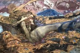 """""""Demon upadły"""", 1902 (Galeria Tretiakowska, Moskwa)"""