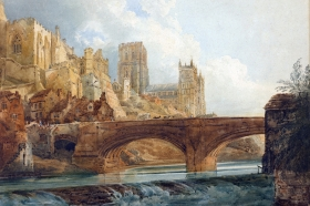 Thomas Girtin, Durham Cathedral and Castle, ok. 1800 (© Getty Center, Los Angeles, USA)