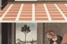Sandro Botticelli, Zwiastowanie, ok. 1490 r. – www.behance.net/bencehajdu
