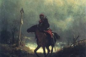 Powstaniec z 1863 roku, około 1869, MNW
