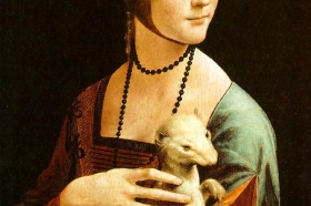 Dama z gronostajem, Leonardo da Vinci, 1489