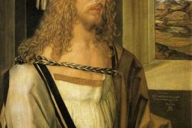 Albrecht Dürer, Autoportret, 1498