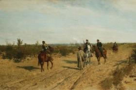 Patrol powstańczy - pikieta 1872-1873, MNW