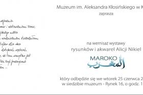 Folder towarzyszący wystawie © Muzeum w Kętach i Alicja Nikiel