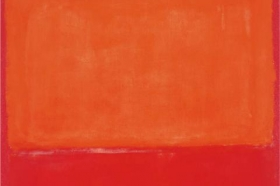 Mark Rothko, Ochre and Red on Red, 1957