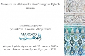 Zaproszenie na wystawę © Muzeum w Kętach i Alicja Nikiel